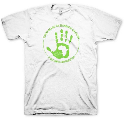 White Hand Men's Green