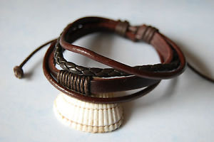 Leather Bands (Black or Brown)
