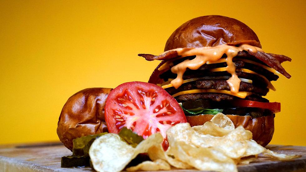 The Chief burger Chixen KC