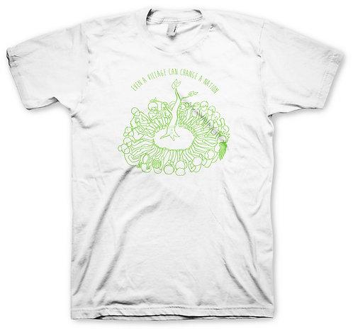 White Logo Men's Green