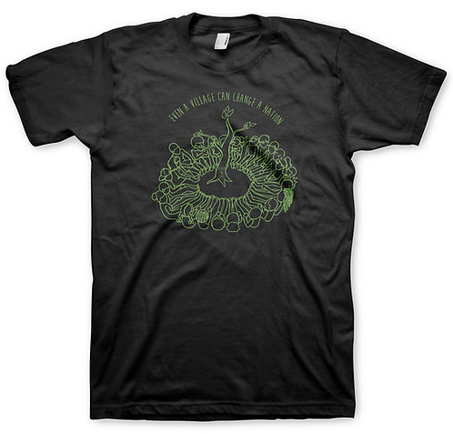 Black Logo Men's Green