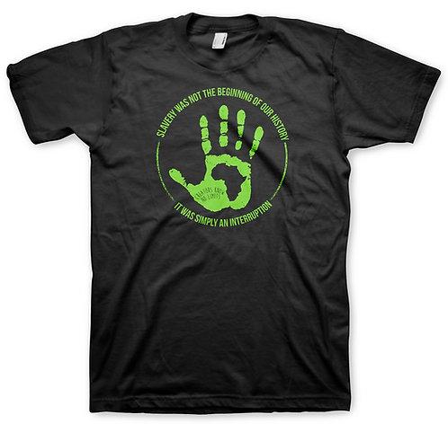 Black Hand Men's Green