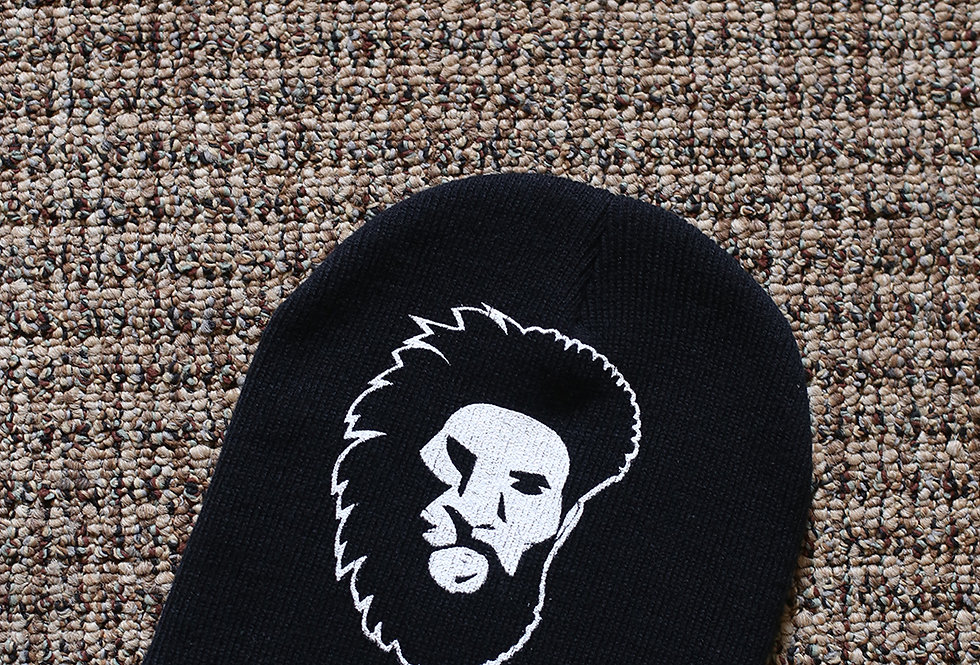 Black Cap Beanie