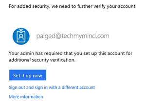 Pre-Enroll Azure MFA User Settings