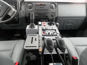 In cab controls