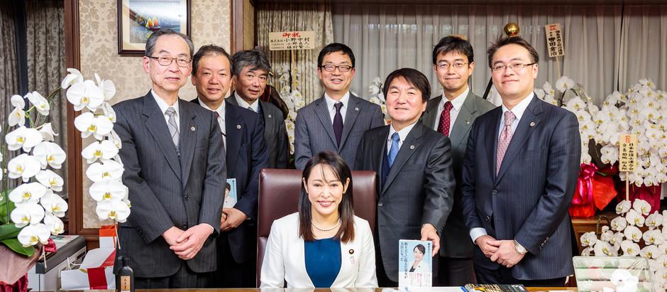 谷弁護士が、弁護士政治連盟の業務で、森まさこ法務大臣のインタビューに参加しました。