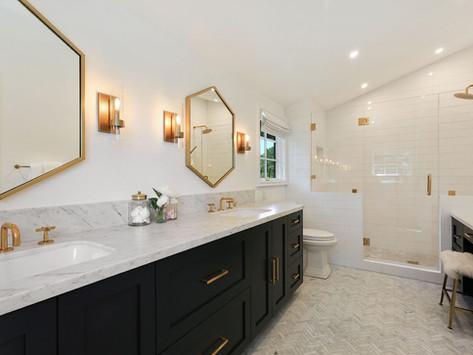 Fixer Inspo: California Master Bathroom and Kitchen Remodel