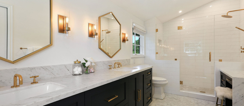 Fixer Inspo: California Master Bathroom and Kitchen Remodel