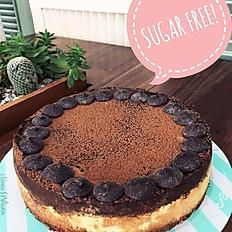 Sugar Free Chocolate Cheesecake