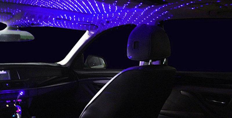 USB Atmosphere Lights, Various Modes USB Star Projector Night Light
