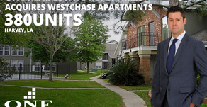 One Real Estate Investment Acquires Westchase Apartments & Whitney Manor