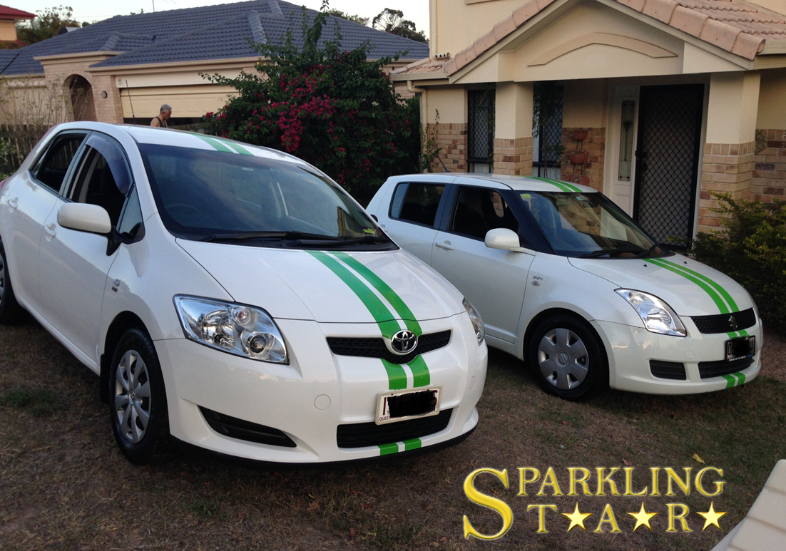 Fleet Car Detailing Performed by Sparkling Star Mobile Car Detailing in Brisbane