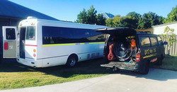 Bus Detailing Service Shampoo Vacuum
