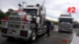 Chrome Truck Detailing Performed By Sparkling Star Mobile Car Detailing in Brisbane