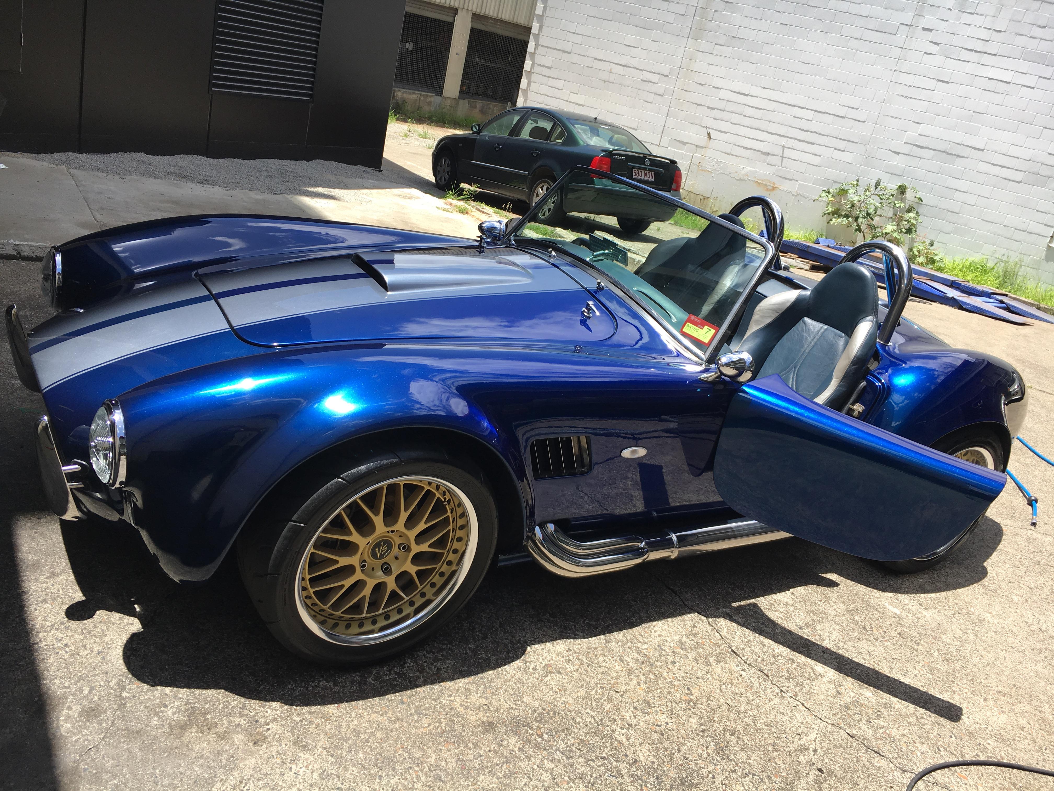 Paint Correction on Shelby Cobra