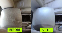 Leather conditioning & protection at Sparkling Star Detailing