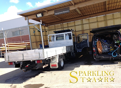 Truck Cut and Polish Performed by Sparkling Star Mobile Car Detailing in Brisbane