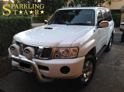 Complete (Pre-Sale) Package Performed by Sparkling Star Mobile Car Detailing on Nissan Patrol in Bri
