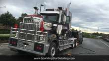 Mobile Truck Detailing service provided by Sparkling Star Detailing in Brisbane
