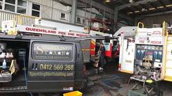 QLD Fire & Rescue Fire Truck Detail
