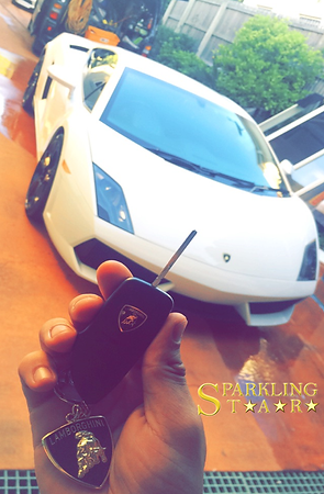 Lamborghini Detailing Performed by Sparkling Star Mobile Car Detailing in Brisbane