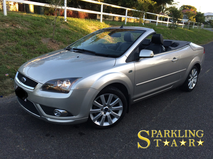 Ford Convertible Detailed - Complete Package by Sparkling Star Mobile Car Detailing in Brisbane