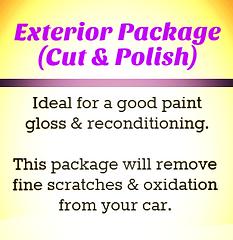 Exterior Car Detailing Package (Cut & Polish)