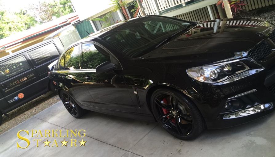 Holden HSV Paint Protection Detailing by Sparkling Star Mobile Car Detailing in Brisbane