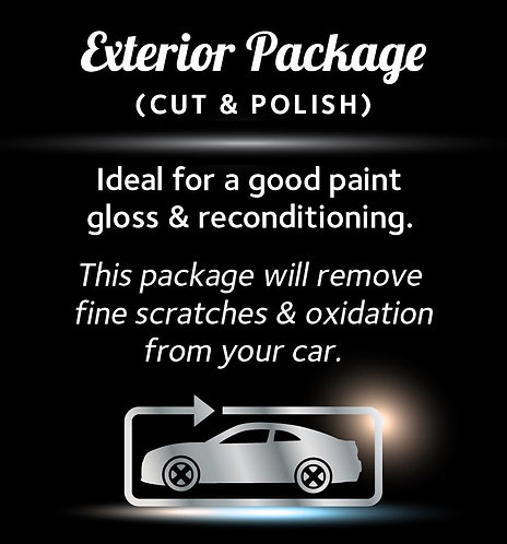 Small - Exterior Package Gift Voucher