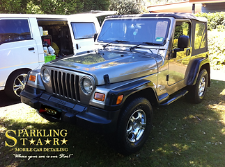 Exterior Package Performed on Jeep by Sparkling Star Mobile Car Detailing in Brisbane
