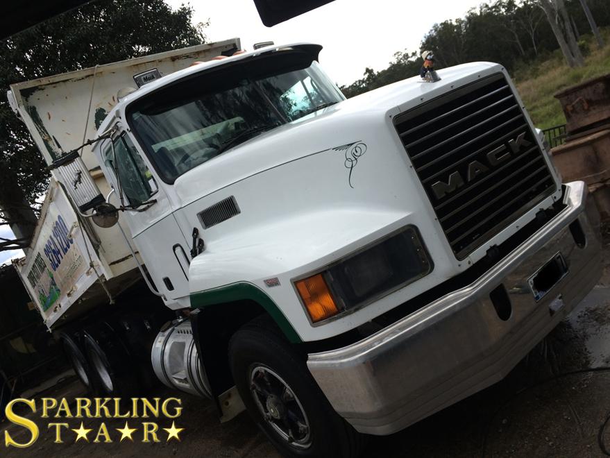 Complete Truck Detaling Available by Sparkling Star Mobile Car Detailing in Brisbane