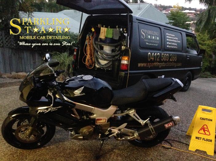 Motorbike Detailing Brisbane