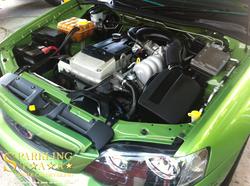 Brisbane car detailing - Engine Bay