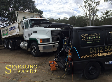Truck Detailed By Sparkling Star Detailing in Brisbane