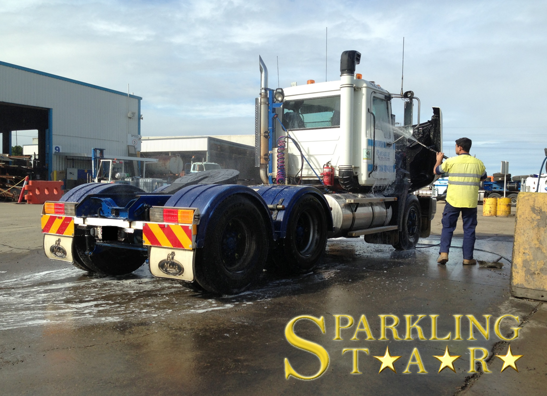 Truck Wash & Detailing Performed by Sparkling Star Mobile Car Detailing Brisbane