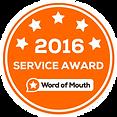 2016 Service Award