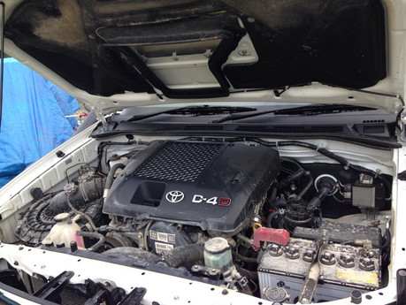 Leave it to the professionals - Engine bay Car Detailing Brisbane