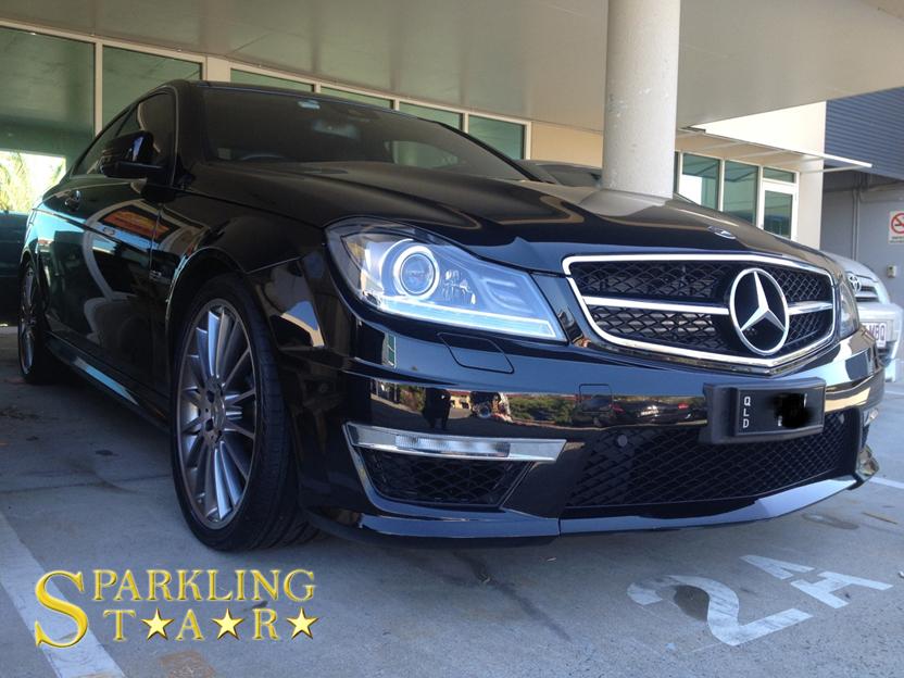 Mercedes AMG Detailing by Sparkling Star Mobile Car Detailing in Brisbane