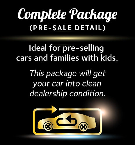 Large - Complete Package Gift Voucher