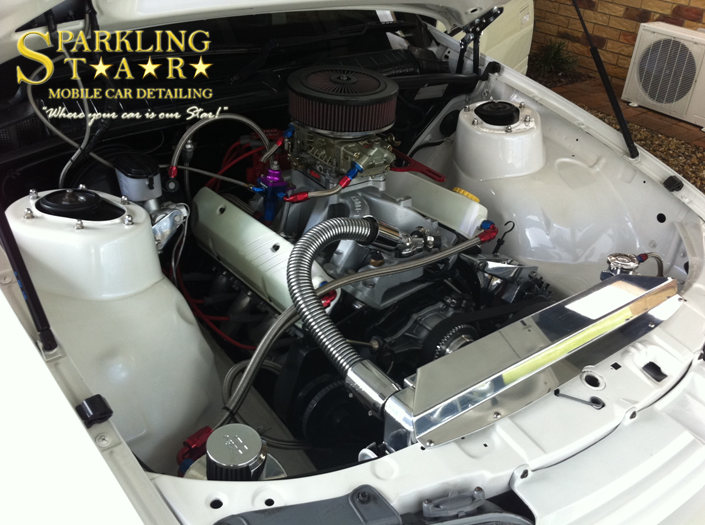 Engine Bay Detailing Brisbane