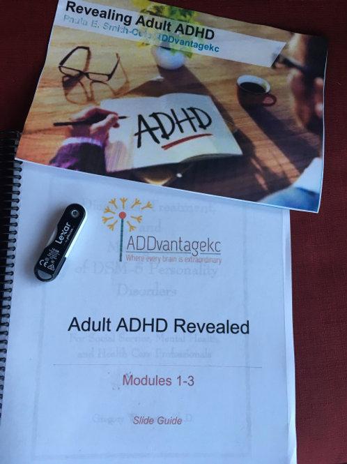 Revealing Adult ADHD