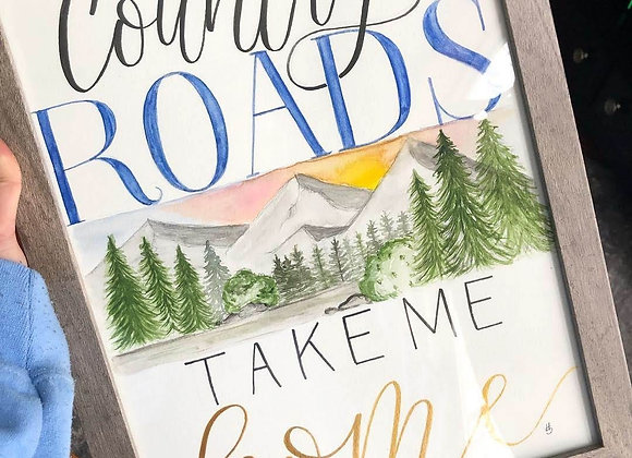 Watercolor Quotes, Sayings, & Vows