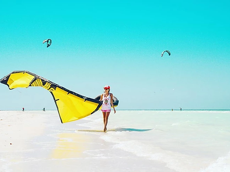 Estas 5 razones te harán quedarte en Las Nubes si te encanta el kitesurf