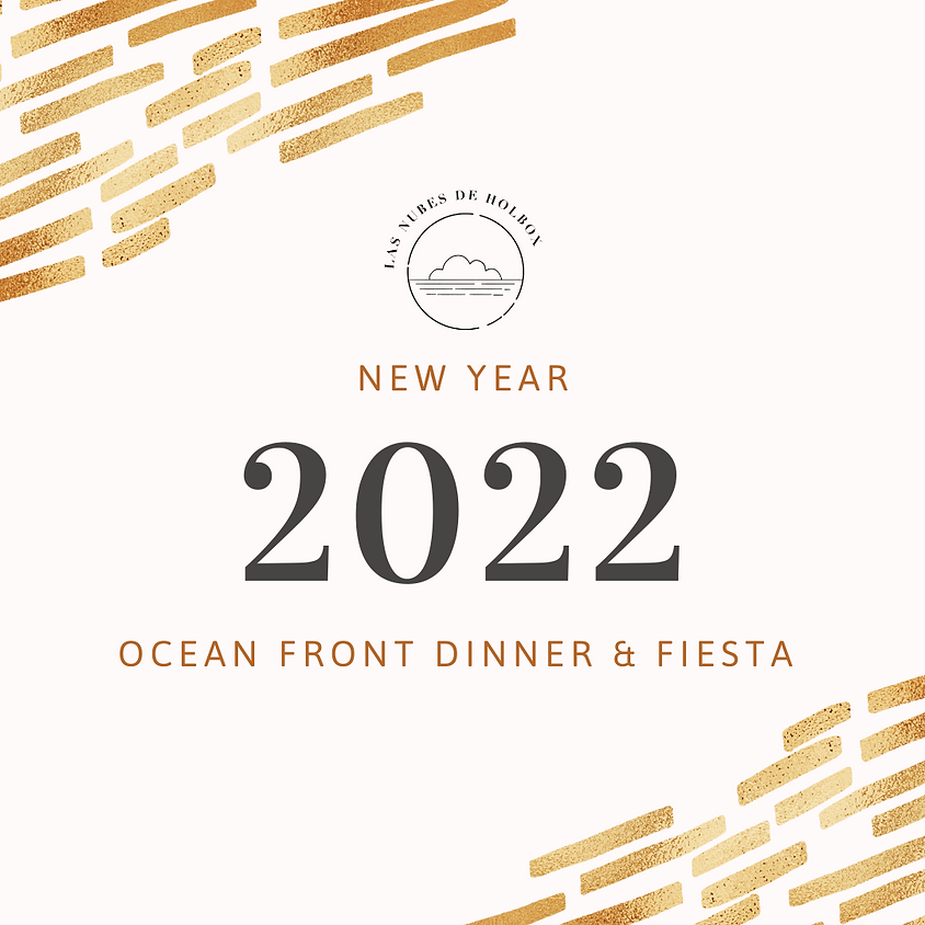New Years - Ocean Front Dinner & Fiesta