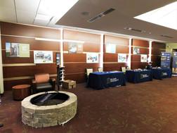 Grand Hall Lobby utilized for vendor set up