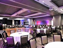 Grand Hall banquet set with dance floor
