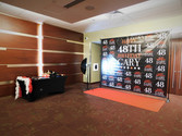 Grand Hall Lobby with custom photo booth
