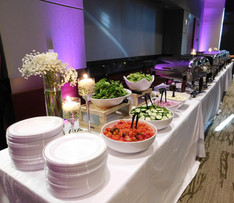 Reception buffet in Grand Hall