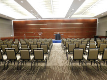 Grand Hall Business seminar with stage