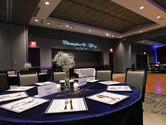 Grand Hall Reception with custom GOBO